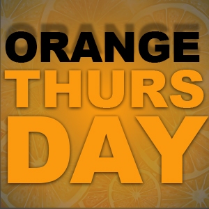 Orange Thursday im La Fumée